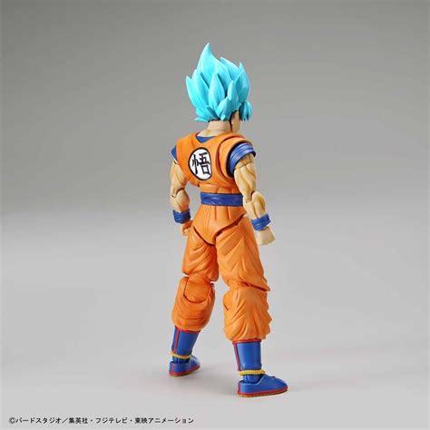 goku super saiyan dios azul bandai nuevo en
