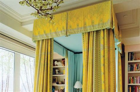 bed drapery designing with bed drapery canopies