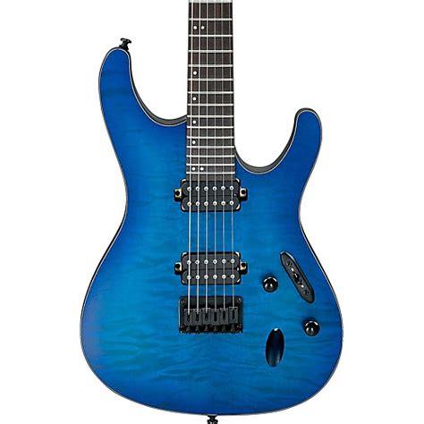Ibanez S Series Blue ibanez s series s621qm electric guitar sapphire blue
