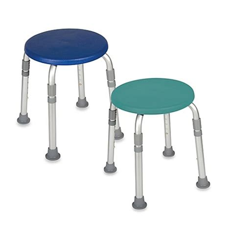 bed bath and beyond stools drive medical adjustable bathroom safety shower tub stool