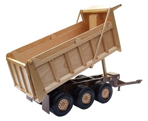 Wooden Skrew Truck the heavy pup trailer wooden pattern 20 quot