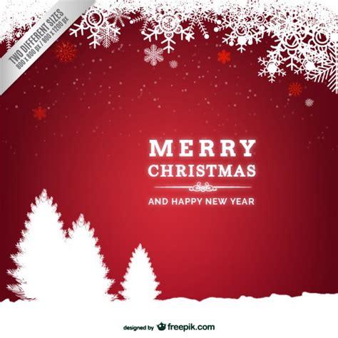 decoração arvore de natal vermelho e branco cart 227 o de natal vermelho e branco 225 rvores silhuetas