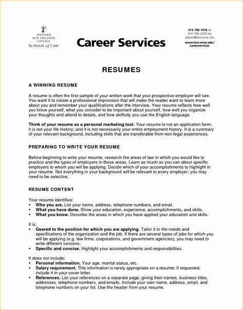 resume objective summary exles 4 writing resume objective summary free sles
