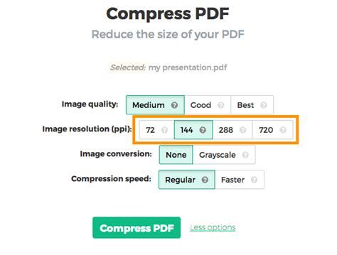 compress pdf image compress pdf online