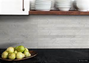 light gray subway backsplash tile