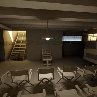 execution room execution room 3d model