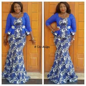 Lovely ankara skirt and blouse style http www dezangozone com 2016