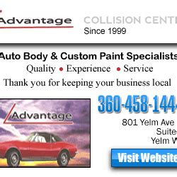 Numc Detox Phone Number by Advantage Collision Center Shops 801 W Yelm Ave