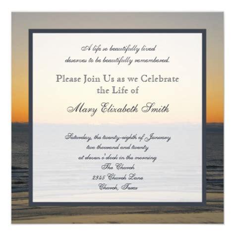 Celebration Of Life Invitation Pinterest Celebrations And Template Celebration Of Invitation Template