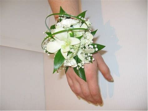 wrist corsages prom 2015 white wrist corsage prom flowers 2014 2015 pinterest