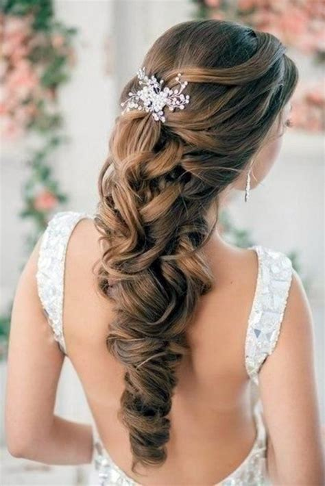 hairstyles to keep hair open bridal hairstyle half open come on in style under the