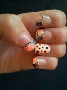 french tip camo nail design no dots maybe that nail be
