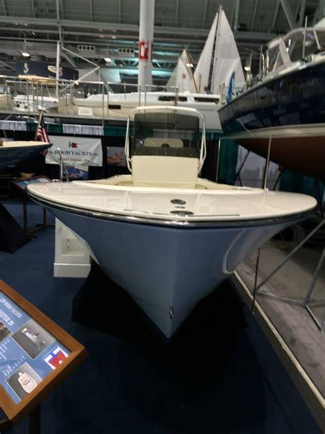 in water boat show boston ma c w hood 20 center console boston boat show the hull