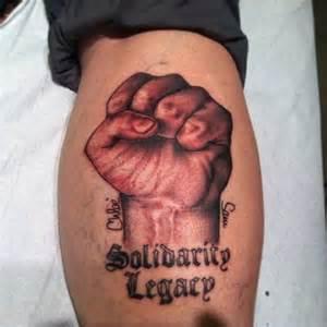 fist tattoos solidarity fist tattoo tattooer amanda hoffman pinterest
