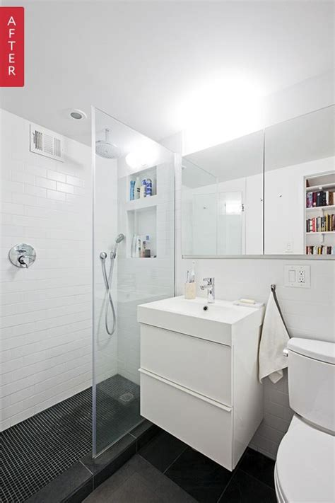 bathroom vanities brooklyn before after modern updates for a tiny brooklyn