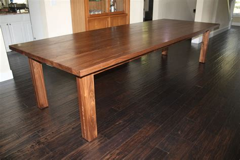 wood dining room tables solid black walnut conference tables conference table