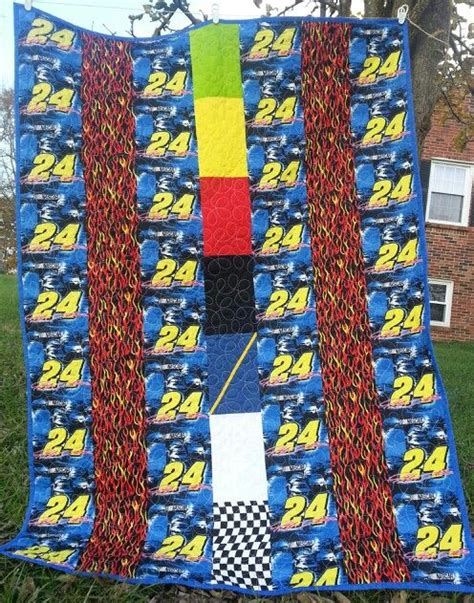 flags of the world quilt nascar jeff gordon quilt with nascar flags for the center