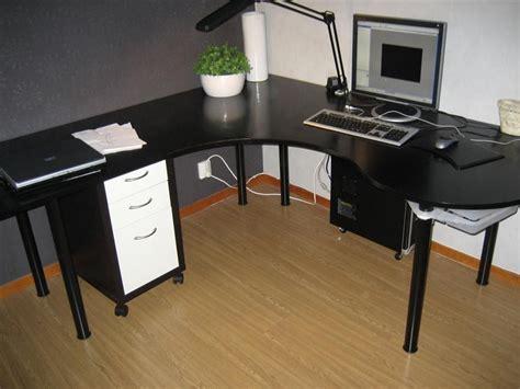 wrap around office desk diy wrap around desk your projects obn