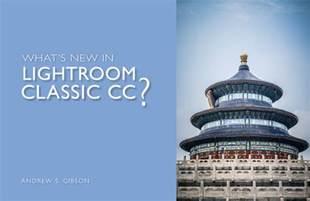 adobe lightroom classic cc book books what s new in lightroom classic cc the creative