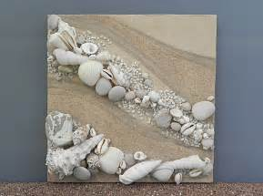 Seashell Wall Decor by Nautical Home Decor Shell Nature Materials