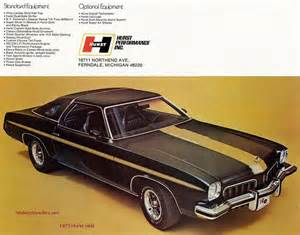 The oldsmobile hurst olds for 1973 and 1974 used cutlass s fastback