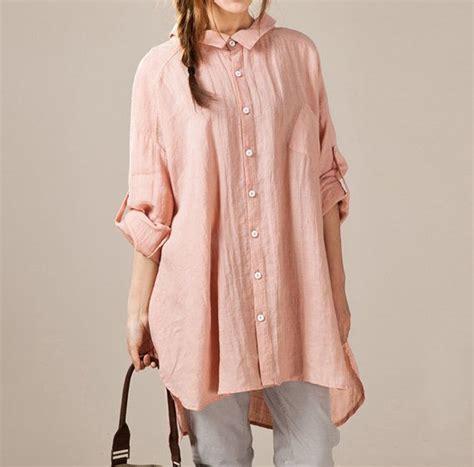 Kesha Tunik Asymmetric Blouse linen asymmetric large size shirt by malieb on etsy my style sleeve tunics