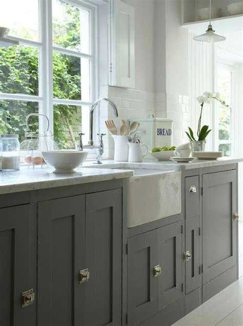 kitchen cabinets painted gray cottage kitchen gray kitchen cabinets cottage kitchen