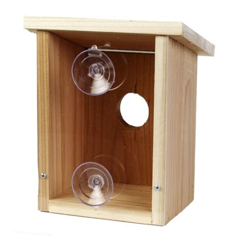 see through window bird house window nest box see through bird house