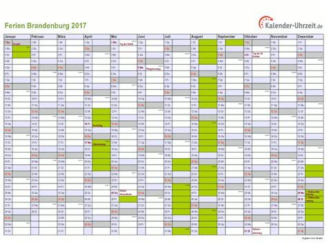 Kalender 2018 Ferien Brandenburg Ferien Brandenburg 2017 Ferienkalender Zum Ausdrucken