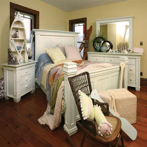 coastal cottage bedroom furniture coastal cottage bedroom set american made custom