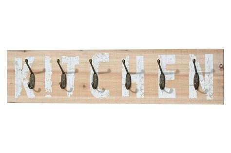 Hakenleiste Selber Machen by Hakenleiste Garderobe Quot Kitchen Quot Holz 6 Wankaken Shabby