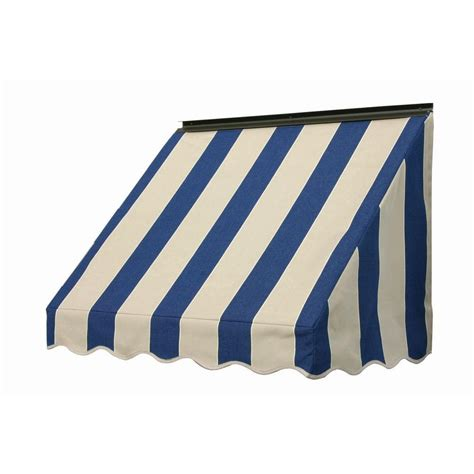 home depot window awnings nuimage awnings 3 ft 3700 series fabric window awning 23
