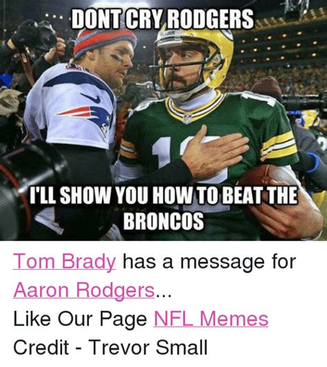 Aaron Rodgers Memes - funny broncos memes of 2016 on sizzle finding nemo