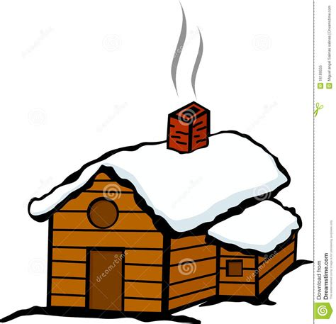 House Design Free Download by Winter Cabin House With Snow Royalty Free Stock Photo