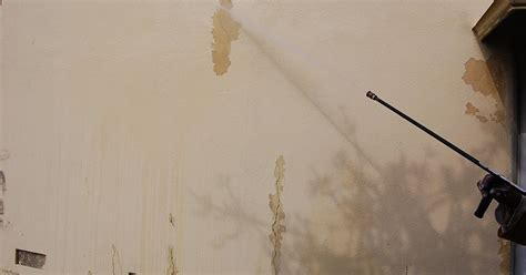 temporary peel off wall paint house painting inc pictures waterblastering on stucco to remove peeling paint cleaning