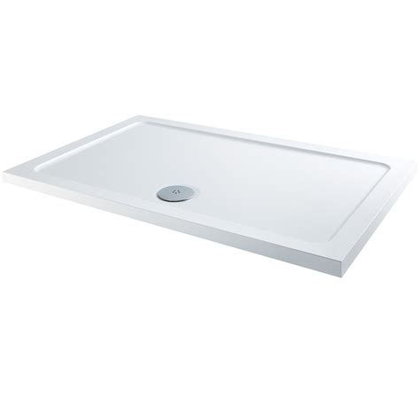 Shower Trays by Elements Slimline Rectangular Shower Tray 1300 X 900