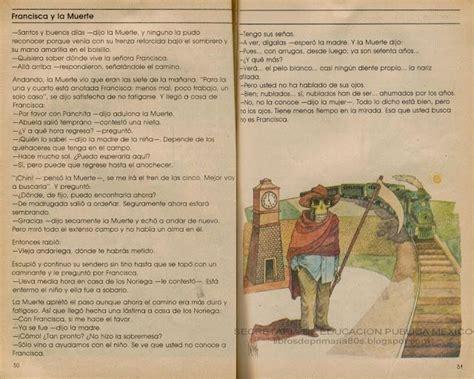 libro muerte entre lneas spanish libros de primaria de los 80 s francisca y la muerte espa 241 ol lecturas 3er grado lecturas