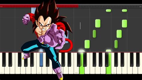 tutorial piano dragon ball z dragon ball gt main theme opening piano tutorial midi easy