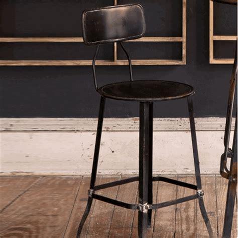 old metal bar stools park hill collection vintage metal bar stool set hc4540