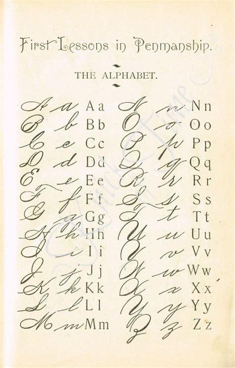 Postkarten Drucken Hohe Qualität by Die Besten 25 Kalligraphie Alphabet Ideen Auf