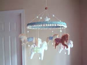 baby crib carousel all the pretty horses carousel or pony baby