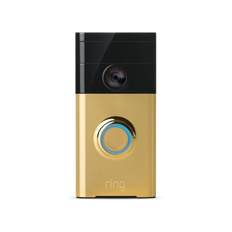 Ring Wi Fi Enabled Video Doorbell by Ring Wireless Video Doorbell 88rg001fc100 The Home Depot