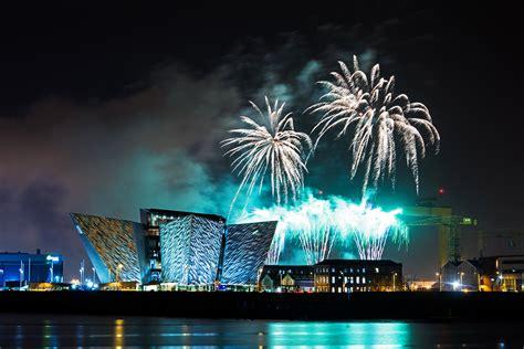 halloween fireworks 2014 titanic belfast jason murphy