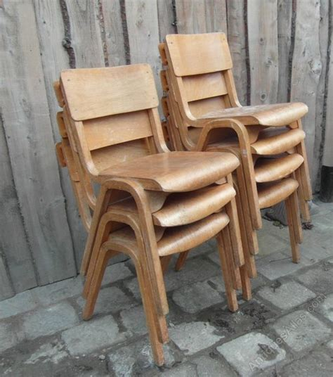 vintage padded stacking chairs antiques atlas vintage stacking chairs