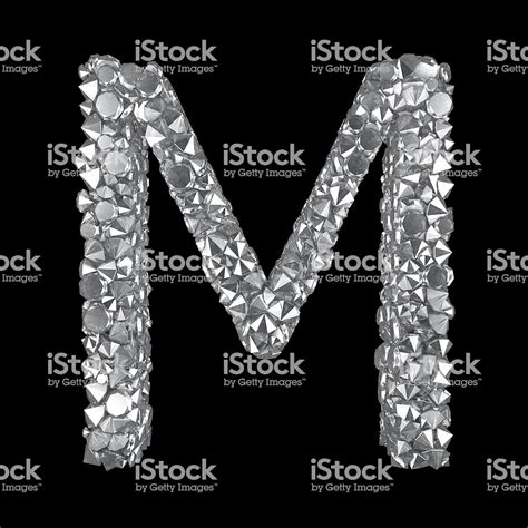 Diamond Letter M Stock Photo & More Pictures of Abstract ... M Letter In Diamond