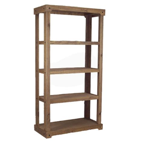 wood shelf display free standing discount shelving