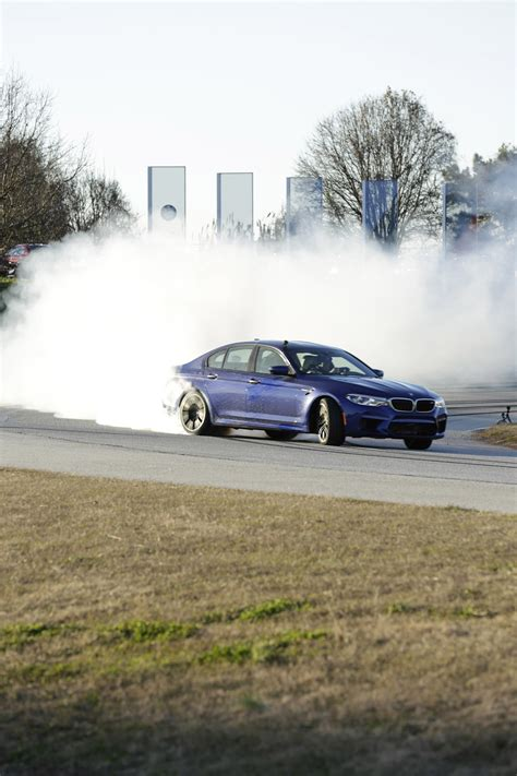 bmw drift bmw sets two guinness world records drifting sideways for