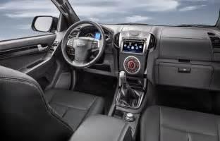 Isuzu Dmax Interior 2017 Isuzu D Max Interior Mng Cars Release Prices