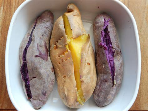 how to cook purple yam in the oven snacking squirrel purple yam scam