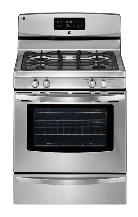 Oven Tangkring Stainless Steel kenmore 5 0 cu ft freestanding gas range stainless